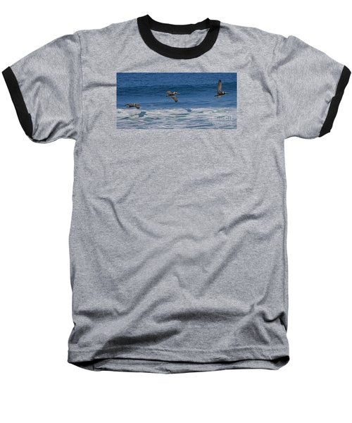 Pelican Trio Baseball T-Shirt