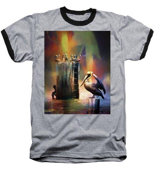 Pelican Ways Baseball T-Shirt