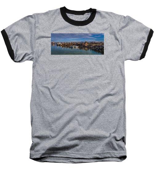 Pelicans At Eden Wharf Baseball T-Shirt