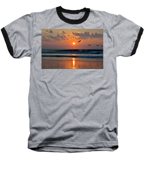 Pelicans On The Move Baseball T-Shirt