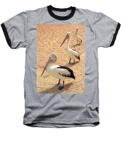 Pelicans Seriously Chillin' Baseball T-Shirt