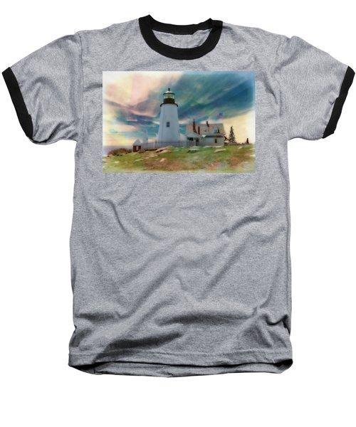 Pemaquid Lighthouse,maine Baseball T-Shirt