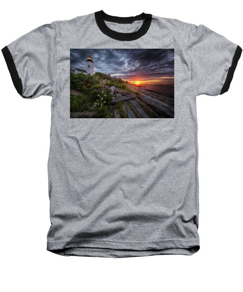 Pemaquid Sunrise Baseball T-Shirt