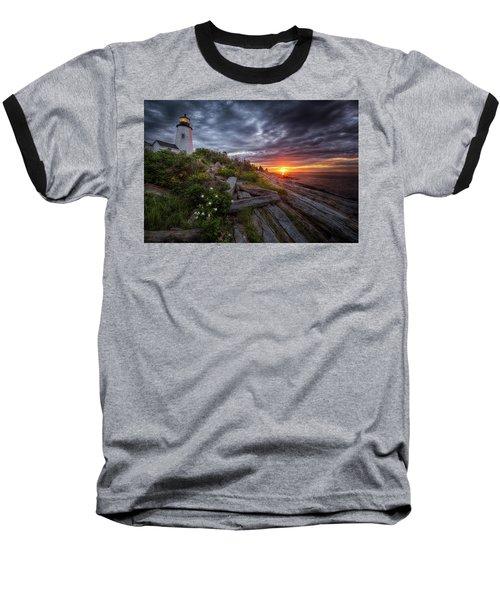 Pemaquid Sunrise Baseball T-Shirt