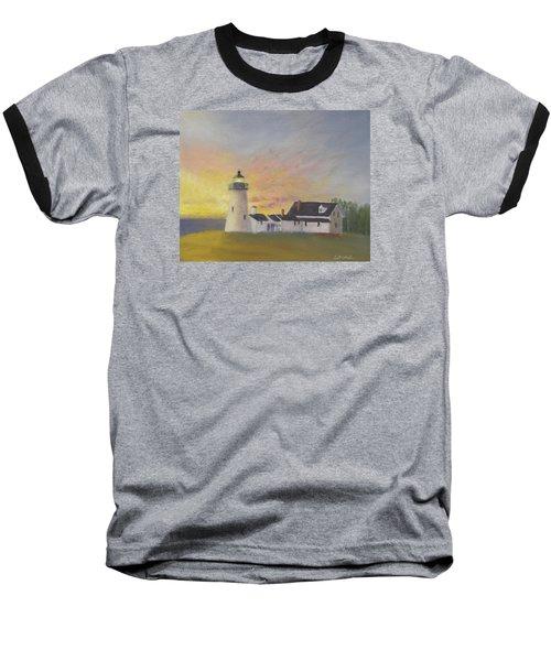 Pemaquid's First Light Baseball T-Shirt
