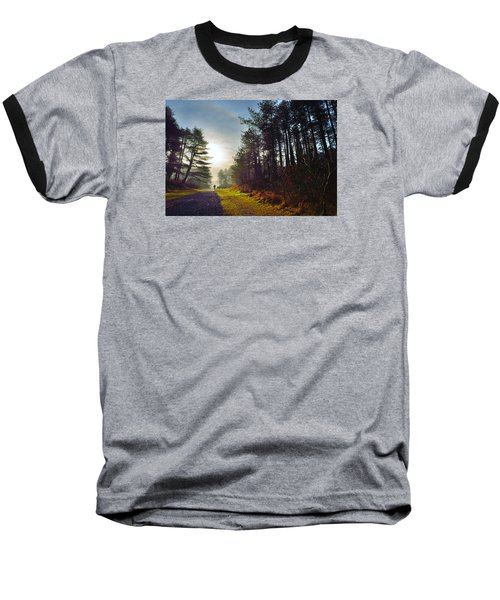 Pembrey Country Park 1 Baseball T-Shirt