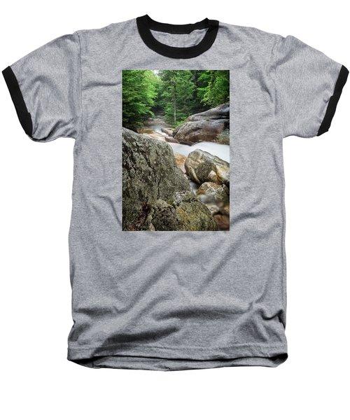 Pemi Above Basin Baseball T-Shirt by Michael Hubley