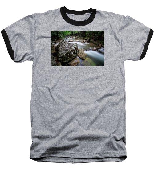 Pemi-basin Trail Baseball T-Shirt by Michael Hubley