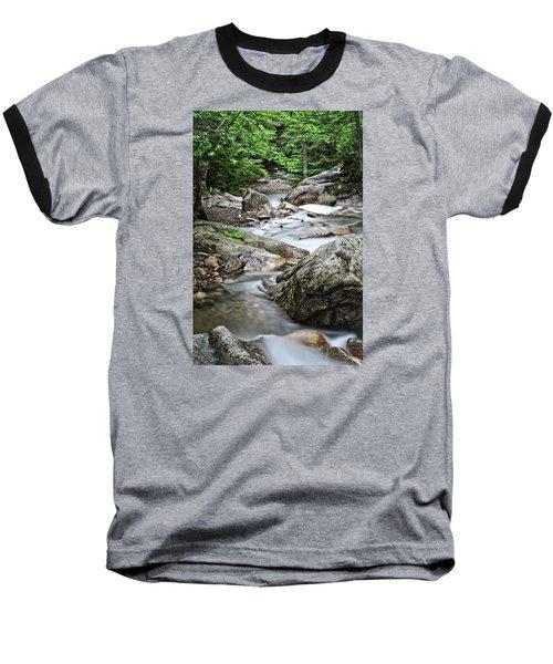 Pemigewasset River Nh Baseball T-Shirt by Michael Hubley