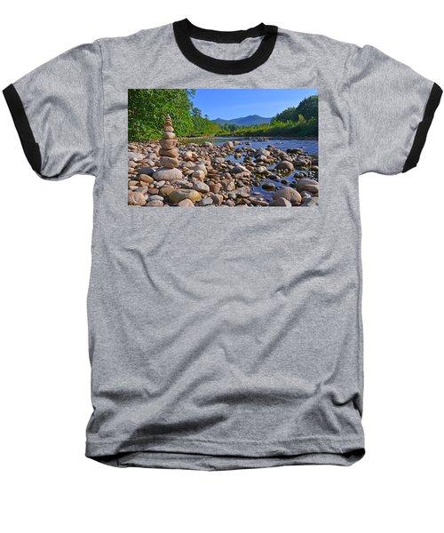 Pemigewasset River, North Woodstock Nh Baseball T-Shirt