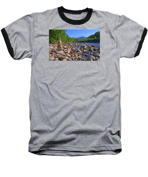 Pemigewasset River, North Woodstock Nh Baseball T-Shirt