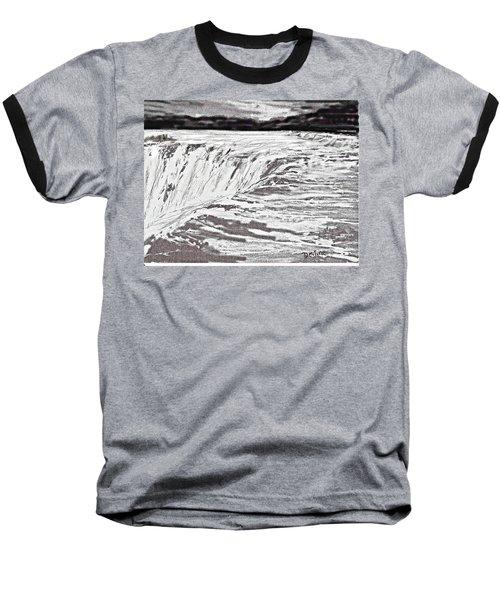 Pencil Falls Baseball T-Shirt