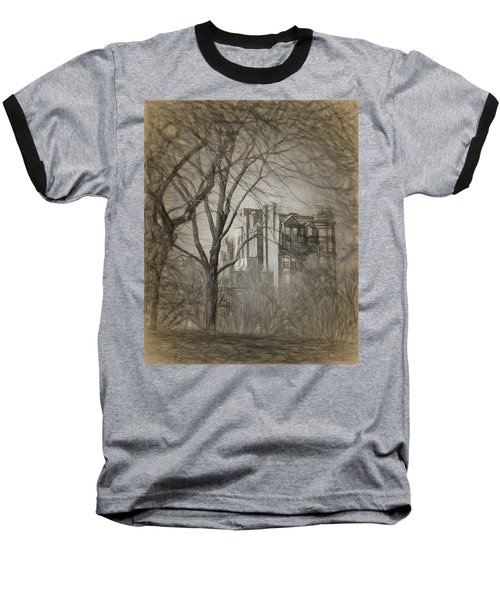 Pencil Sketch Of Beacon Hill Baseball T-Shirt