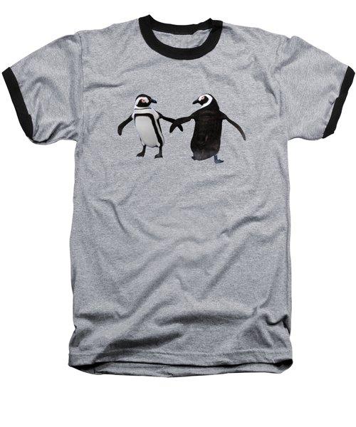 Penguin Dance Baseball T-Shirt