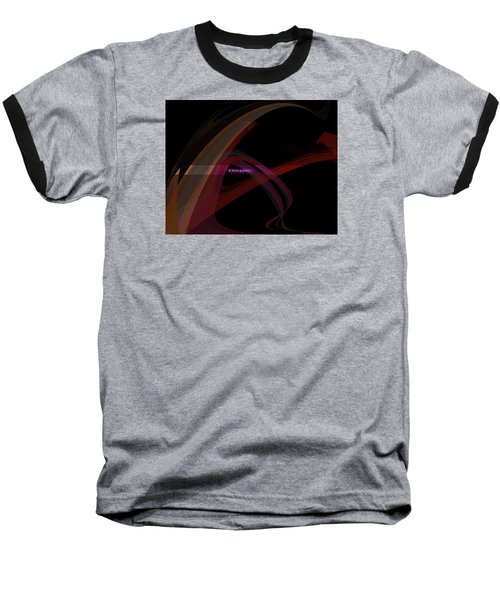 Baseball T-Shirt featuring the painting Penman Original-293- A Glimmer Of Hope by Andrew Penman