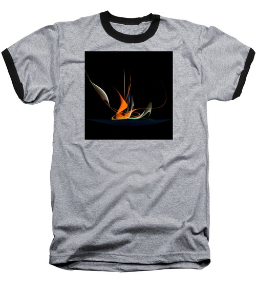 Penman Original-343 Exotic Melody Baseball T-Shirt by Andrew Penman