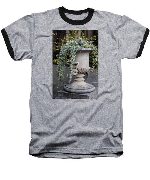 Penn State Flower Pot  Baseball T-Shirt