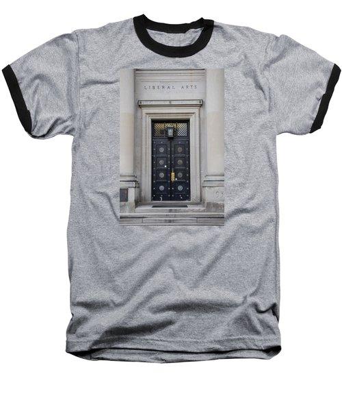 Penn State University Liberal Arts Door  Baseball T-Shirt by John McGraw