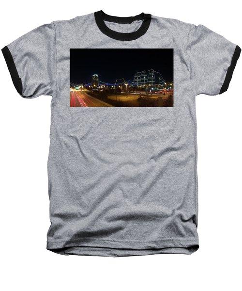 Penn's Landing Baseball T-Shirt by Leeon Pezok