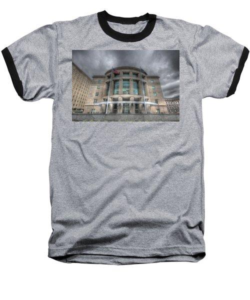 Pennsylvania Judicial Center Baseball T-Shirt by Shelley Neff