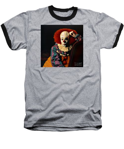 Pennywise Baseball T-Shirt by Paul Meijering