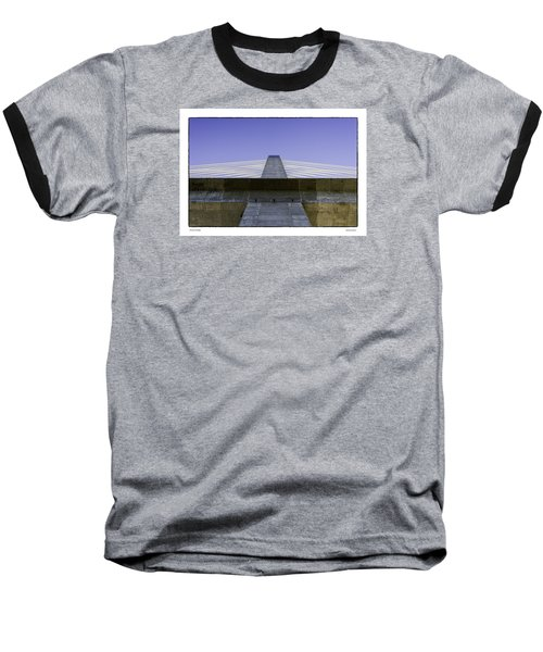 Penobscot Bridge Baseball T-Shirt by R Thomas Berner