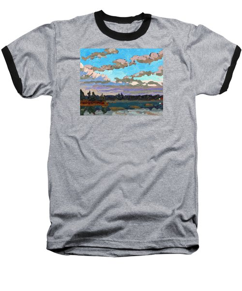Pensive Clouds Baseball T-Shirt