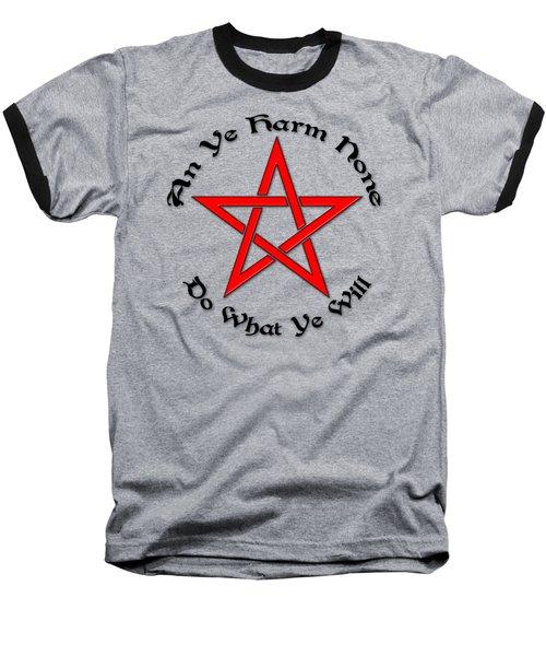Pentagram Baseball T-Shirt