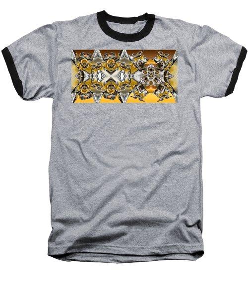 Pentwins Baseball T-Shirt by Ron Bissett