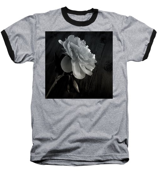 Baseball T-Shirt featuring the photograph Peonie by Sharon Jones
