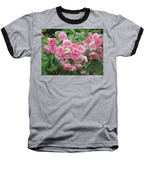 Peonies At Glen Magna Farms Baseball T-Shirt