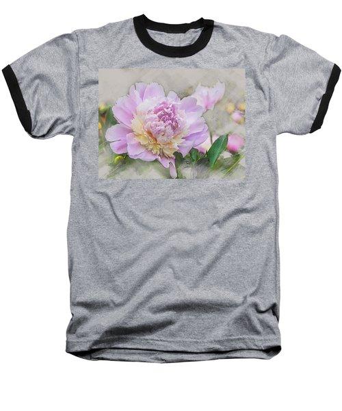 Peony 2 Baseball T-Shirt