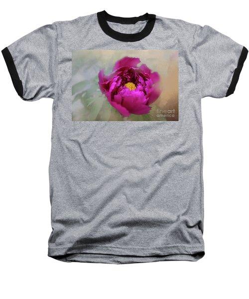 Peony Baseball T-Shirt