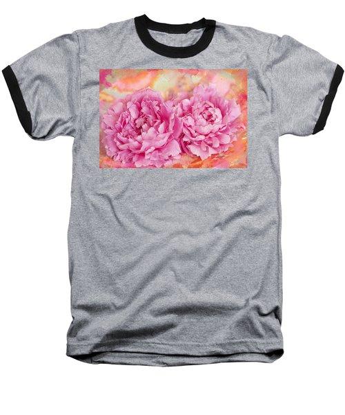Peony Fiesta Baseball T-Shirt