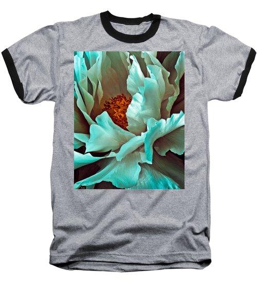 Peony Flower Baseball T-Shirt