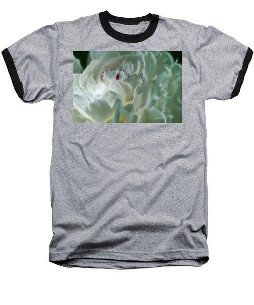 Peony Flower Energy Baseball T-Shirt