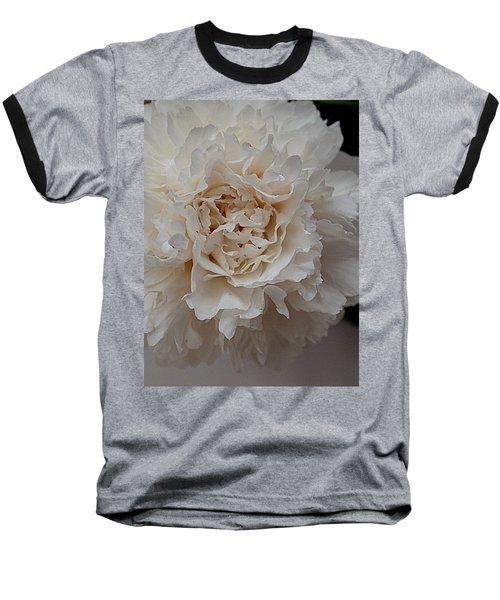 Baseball T-Shirt featuring the photograph Peony Petals by Nancy Kane Chapman