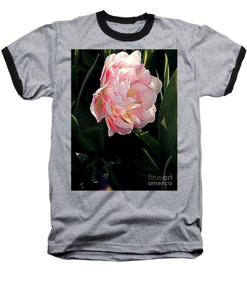 Baseball T-Shirt featuring the photograph Peony Tulip by Nancy Kane Chapman
