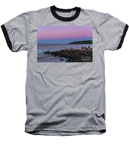 People Watch The Sun Set Baseball T-Shirt