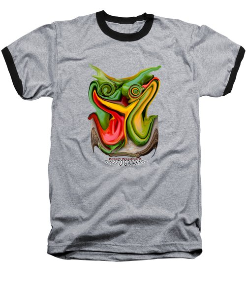 Pepper Strigiform Transparency Baseball T-Shirt