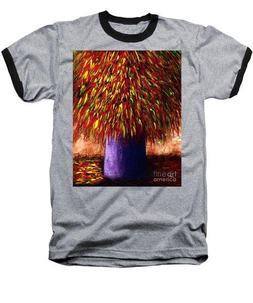 Peppered  Baseball T-Shirt