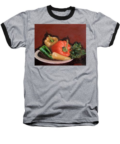 Peppers And Parsley Baseball T-Shirt