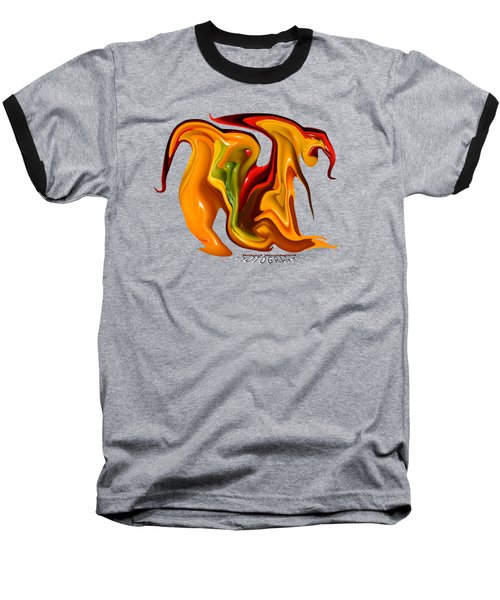 Peppers Lion Transparency Baseball T-Shirt