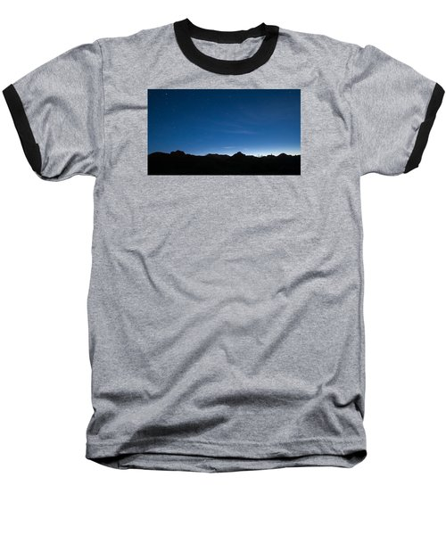 Baseball T-Shirt featuring the photograph Peralta Trail At Sunrise by Monte Stevens