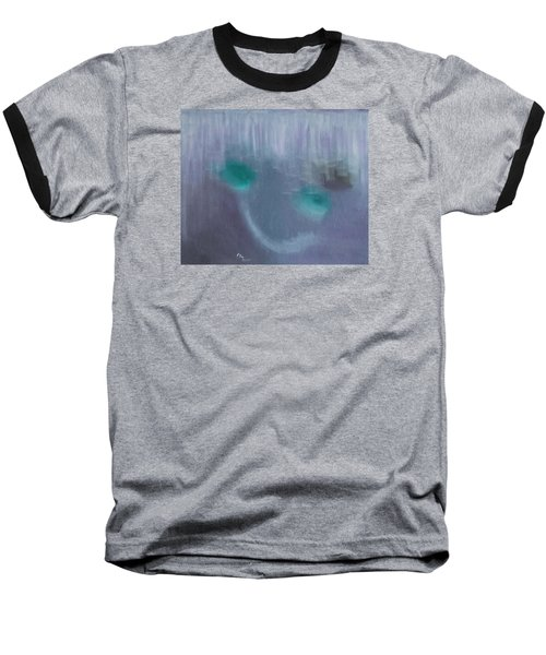 Perception Of Life Baseball T-Shirt by Min Zou