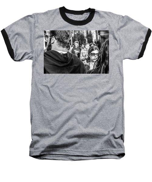 Percolate Baseball T-Shirt by David Sutton