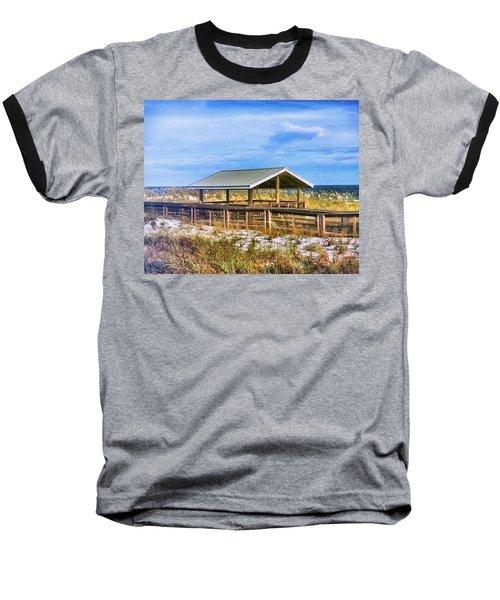Perdido  Baseball T-Shirt by Carlos Avila