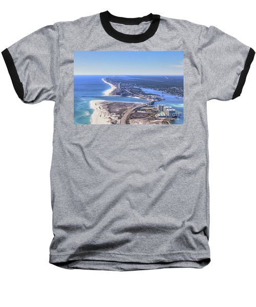 Perdido Pass Bridge 4319 Baseball T-Shirt