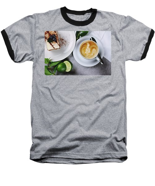Perfect Breakfast Baseball T-Shirt by Happy Home Artistry