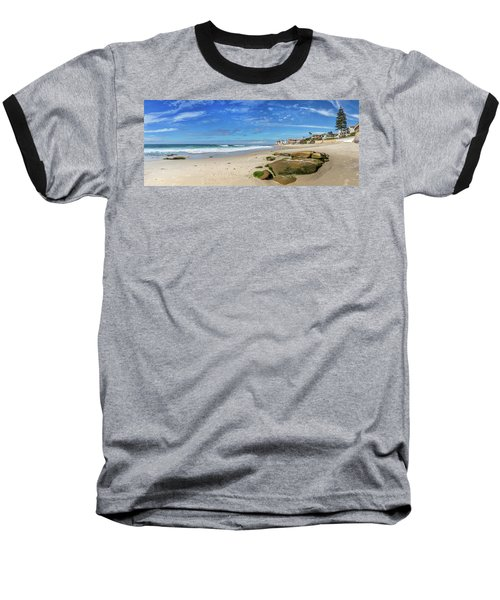 Baseball T-Shirt featuring the photograph Perfect Day At Horseshoe Beach by Peter Tellone
